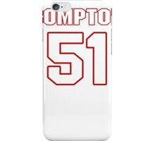 NFL Player Will Compton fiftyone 51 iPhone Case/Skin