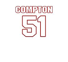 NFL Player Will Compton fiftyone 51 Photographic Print