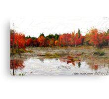Fall in Northern Ontario Metal Print
