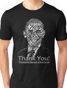 Thank you and Farewell President Barack Obama Shirts Unisex T-Shirt