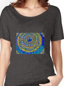 COLORFUL GARDEN GLASS Women's Relaxed Fit T-Shirt