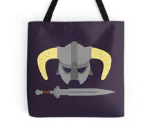Iron helmet & imperial sword Tote Bag