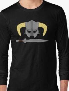 Iron helmet & imperial sword Long Sleeve T-Shirt