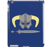 Iron helmet & imperial sword iPad Case/Skin