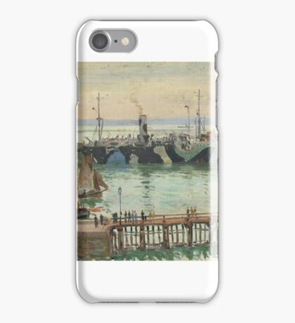 Charles Bryant, by the coast iPhone Case/Skin