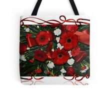 Holiday Bouquet Tote Bag