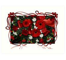 Holiday Bouquet Art Print