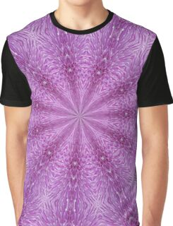 Thistle Flower Graphic T-Shirt