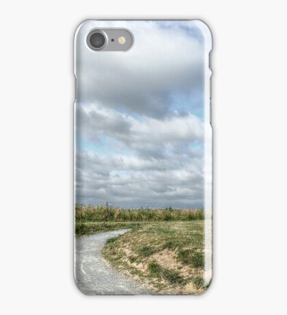 Beyond the Barbed Wire Fence iPhone Case/Skin