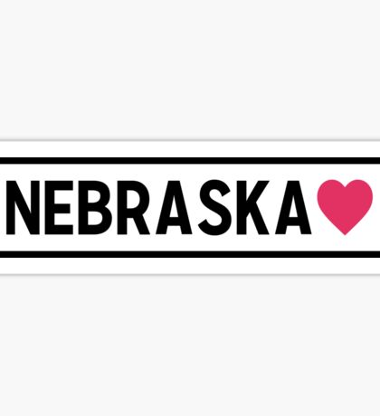 Nebraska Lite Sticker