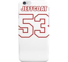 NFL Player Jackson Jeffcoat fiftythree 53 iPhone Case/Skin
