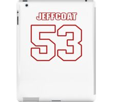NFL Player Jackson Jeffcoat fiftythree 53 iPad Case/Skin