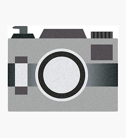 Retro Old-time Camera, Gray Photographic Print