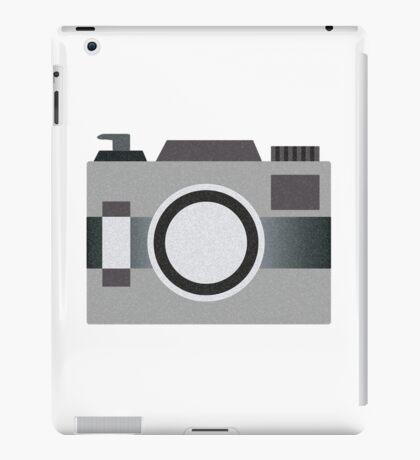 Retro Old-time Camera, Gray iPad Case/Skin