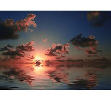 Caribbean Sunset Photographic Print