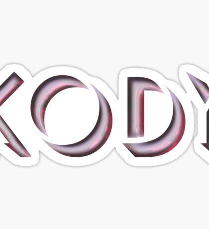 Kody Sticker