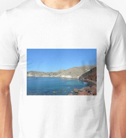 30 September 2016 The Red Beach on the Greek Island of Santorini Unisex T-Shirt