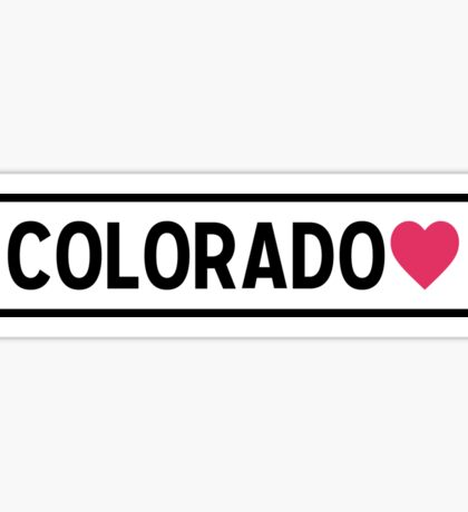 Colorado Lite Sticker