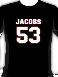 NFL Player Ben Jacobs fiftythree 53 T-Shirt