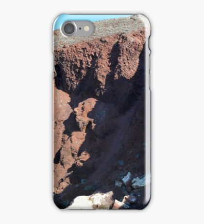 30 September 2016 The Red Beach on the Greek Island of Santorini iPhone Case/Skin