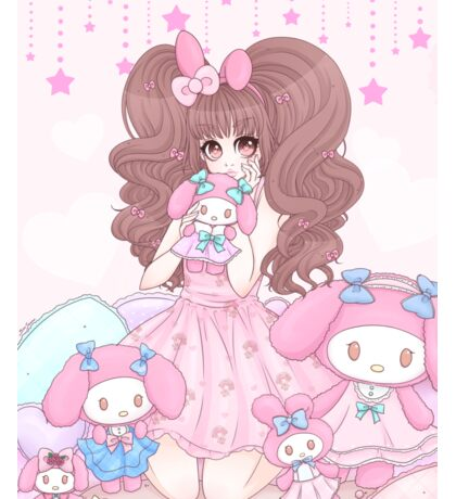 My Melody Hime Sticker