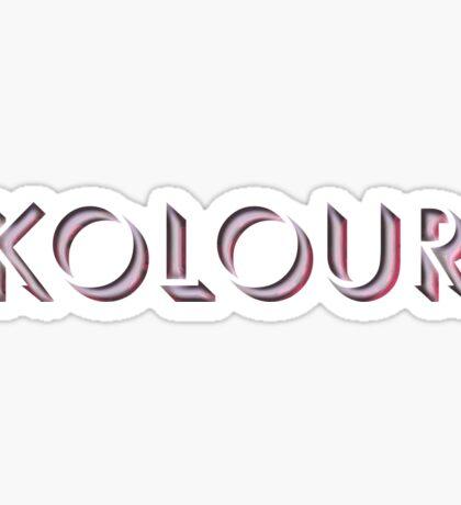 Kolour Sticker