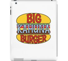 Big Kahuna Burger Tee iPad Case/Skin