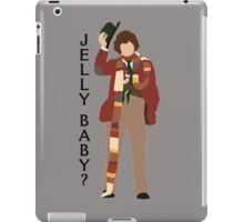 Doctor Who Tom Baker Jelly Baby minimalist iPad Case/Skin
