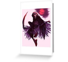 Grim Reaper Danny Phantom Greeting Card
