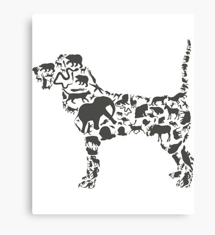 Dog An Animal Canvas Print
