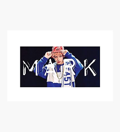 NCT 127 Mark LIMITLESS 01 Photographic Print