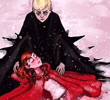Dramione (Little Red Riding Hood) by RedHoodedDemon