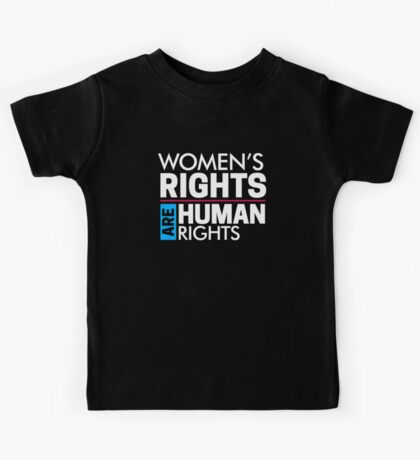 Women's Rights are Human Rights Women's March Kids Tee