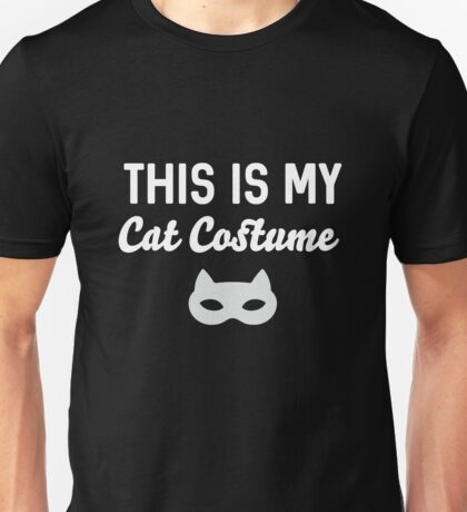 This Is My Cat Costume Unisex T-Shirt