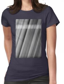 Blurring The Lines Womens Fitted T-Shirt