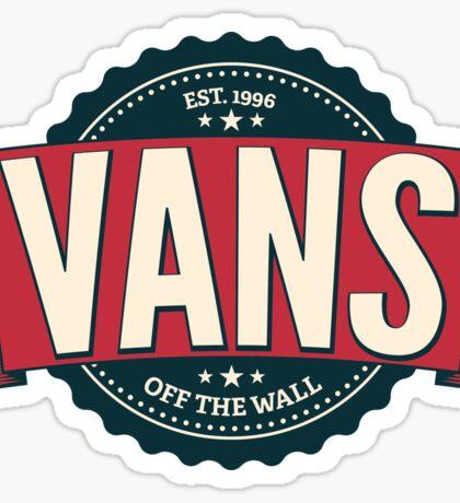 VANS - off the walls Sticker