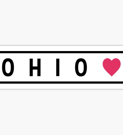 Ohio Lite Sticker