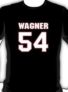 NFL Player Bobby Wagner fiftyfour 54 T-Shirt