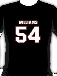 NFL Player Jason Williams fiftyfour 54 T-Shirt