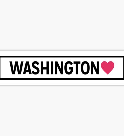 Washington Lite Sticker