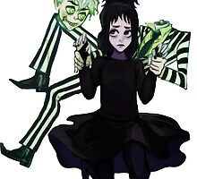 Danny-Sam BeetleJuice by RedHoodedDemon