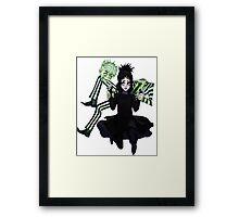 Danny-Sam BeetleJuice Framed Print