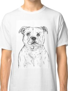 Staffordshire Bull Terrier Staffie Classic T-Shirt