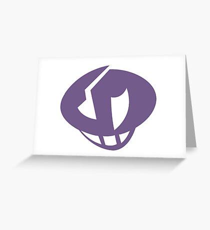 Team Skull: Guzma Tattoo Greeting Card