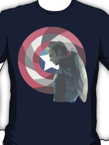 Geo Captain America T-Shirt