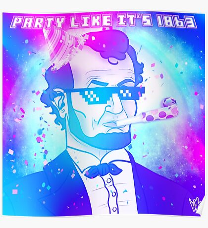 Baberaham Lincoln Party Style Poster