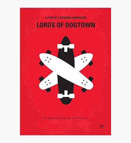 No188 My The Lords Of Dogtown minimal movie poster Photographic Print