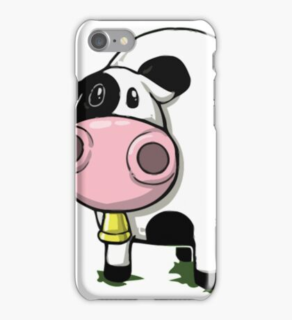 Cow Tipping Cow T Shirt iPhone Case/Skin
