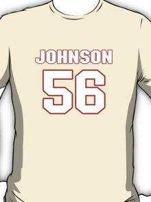 NFL Player Derrick Johnson fiftysix 56 T-Shirt