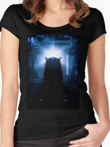 Dalek-tronic Women's Fitted Scoop T-Shirt